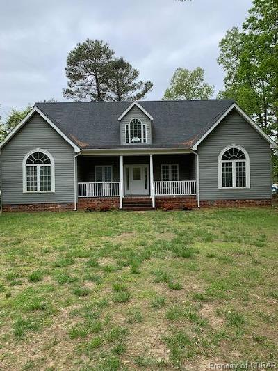Heathsville Single Family Home For Sale: 57 Hideaway Lane