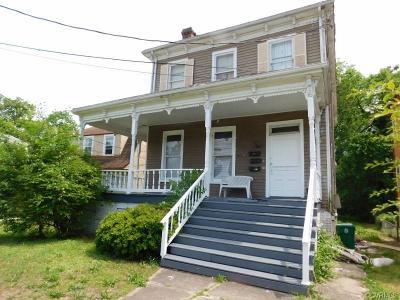 Petersburg Single Family Home For Sale: 104 E Fillmore Street
