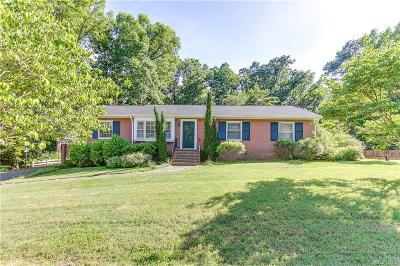 Mechanicsville Single Family Home For Sale: 8231 S Mayfield Lane