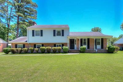 Henrico Single Family Home For Sale: 1911 Sweetwater Lane