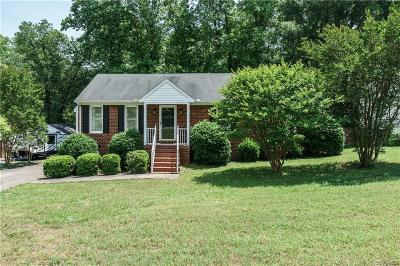 Mechanicsville VA Single Family Home For Sale: $227,500