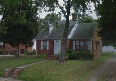 Richmond Single Family Home For Sale: 3404 Ryburn Road
