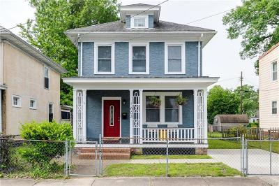 Richmond Single Family Home For Sale: 603 Arnold Avenue