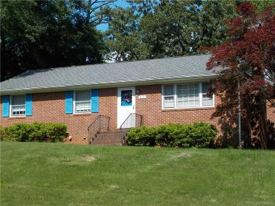 North Chesterfield Single Family Home For Sale: 4131 Foxglove Road