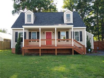 Chesterfield Single Family Home For Sale: 5518 S Jessup Road