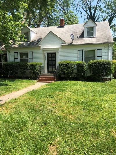 Henrico Single Family Home For Sale: 3805 Austin Ave