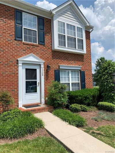Henrico Condo/Townhouse For Sale: 9900 Magnolia Pointe Court