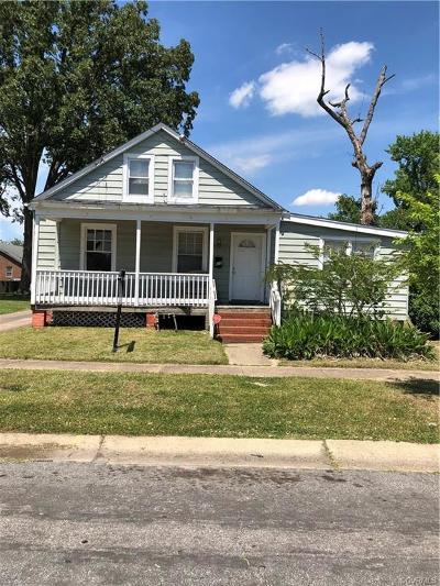 Richmond Single Family Home For Sale: 610 Rex Avenue