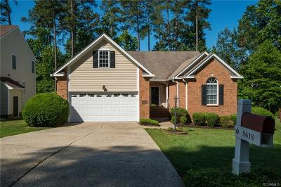 Chester Single Family Home For Sale: 8618 Seabrook Circle
