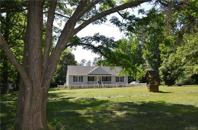 Powhatan Single Family Home For Sale: 1847 Jeter Road