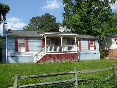 North Chesterfield Single Family Home For Sale: 7619 Cotfield Road