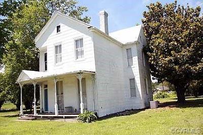 Richmond Single Family Home For Sale: 5400 Nine Mile Road