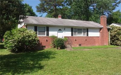 Henrico Single Family Home For Sale: 3300 Birchbrook Road