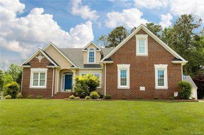 Mechanicsville Single Family Home For Sale: 9189 Wyattwood Rd