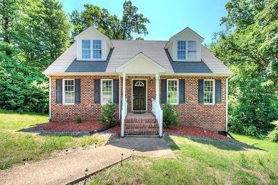 Richmond Single Family Home For Sale: 4823 Burnham Road