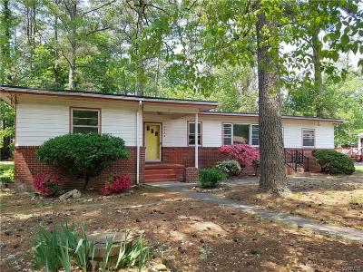 Petersburg Single Family Home For Sale: 2722 Rollingwood Road