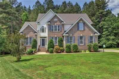 Chesterfield Single Family Home For Sale: 8530 Hampton Crossing Place