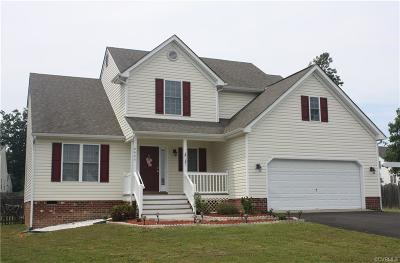 Chester, Chesterfield Single Family Home For Sale: 6425 Lake Caroline Court