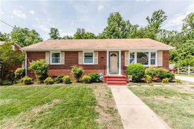 Dinwiddie Single Family Home For Sale: 119 Sadler Avenue