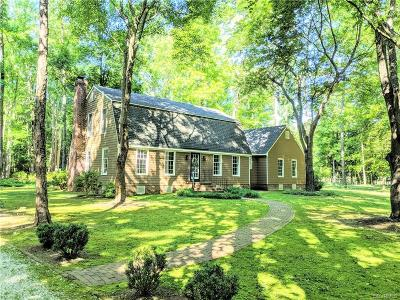 Mechanicsville Single Family Home For Sale: 1533 Old Church Road