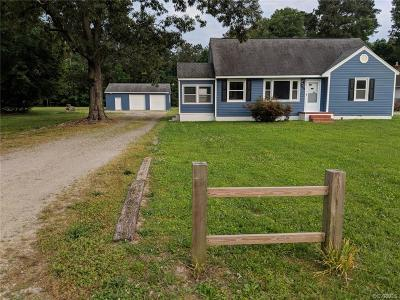 Hanover Single Family Home For Sale: 8523 Peaks Road