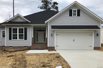 Colonial Heights, Hopewell, Prince George Single Family Home For Sale: Lot 21 Heron Run Drive