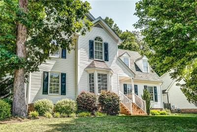 Midlothian Single Family Home For Sale: 11818 Westbury Bluff Drive