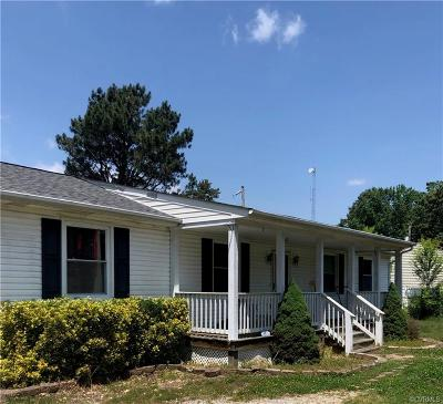 Chesterfield Single Family Home For Sale: 10451 River Road