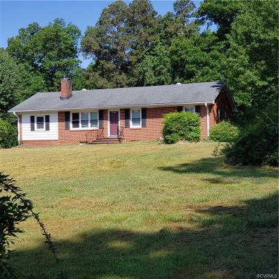 Goochland Single Family Home For Sale: 2948 Sandy Hook Road