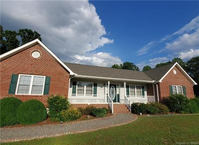 Single Family Home For Sale: 5026 Water View Road