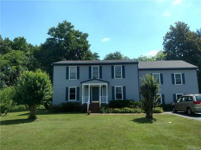 Richmond Single Family Home For Sale: 8361 Osborne Turnpike
