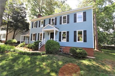 Henrico Single Family Home For Sale: 9619 Hitchin Drive