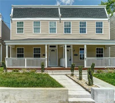 Richmond Single Family Home For Sale: 1120 N 33rd Street
