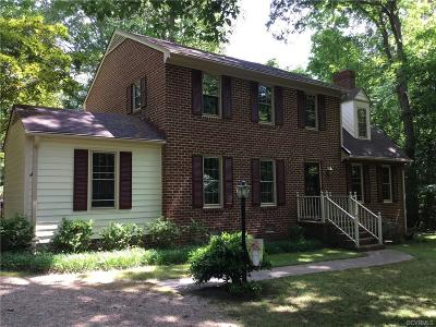 Mechanicsville Single Family Home For Sale: 1571 Old Church Road