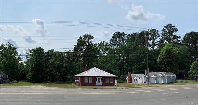 Colonial Heights Commercial For Sale: 17030 Jefferson Davis Highway