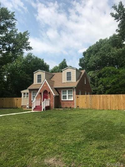 Henrico County Single Family Home For Sale: 3408 Waverly Boulevard