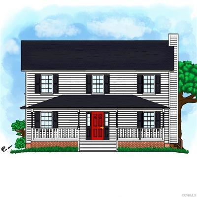Louisa Single Family Home For Sale: Lot 13 Fox Run Forest Lane