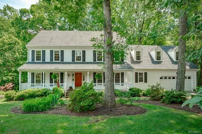 Chesterfield Single Family Home For Sale: 5207 Watercrest Road