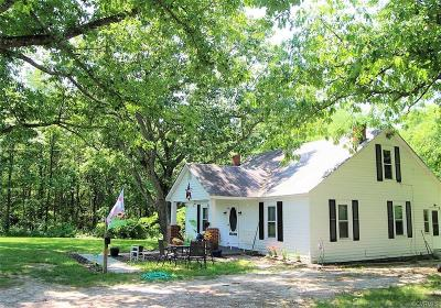 Nottoway County Single Family Home For Sale: 1513 S Genito Road