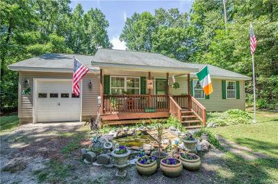 Powhatan Single Family Home For Sale: 2257 Batterson Road