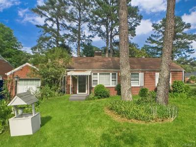 Petersburg Single Family Home For Sale: 2717 Oak Hill Road