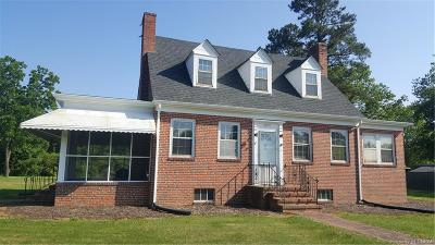 Lancaster Single Family Home For Sale: 2771 White Chapel Road