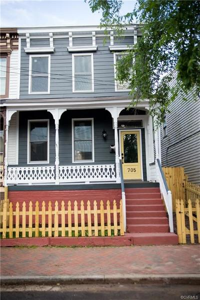 Richmond Single Family Home For Sale: 705 N 21st Street