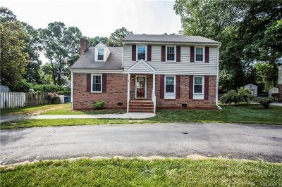 Henrico Single Family Home For Sale: 2627 Pleasant Run Drive