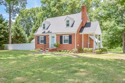 Henrico Single Family Home For Sale: 2516 Skipwith Road