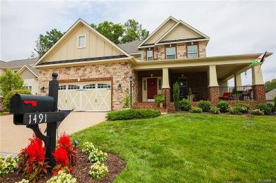 Manakin Sabot Single Family Home For Sale: 1491 Camberley Drive