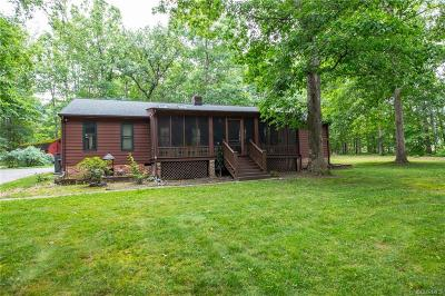 Dinwiddie Single Family Home For Sale: 4211 Tower Drive