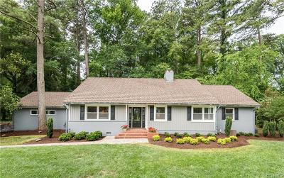 Richmond Single Family Home For Sale: 2820 Westchester Road
