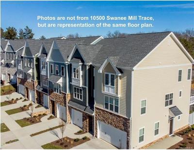 Glen Allen Condo/Townhouse For Sale: 10500 Swanee Mill Trace #J-6