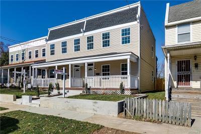 Richmond Single Family Home For Sale: 1122 N 33rd Street